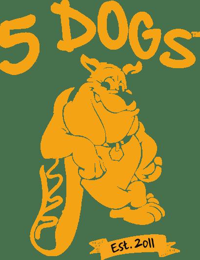 5 Dogs Meat x Vegan x Fries logo